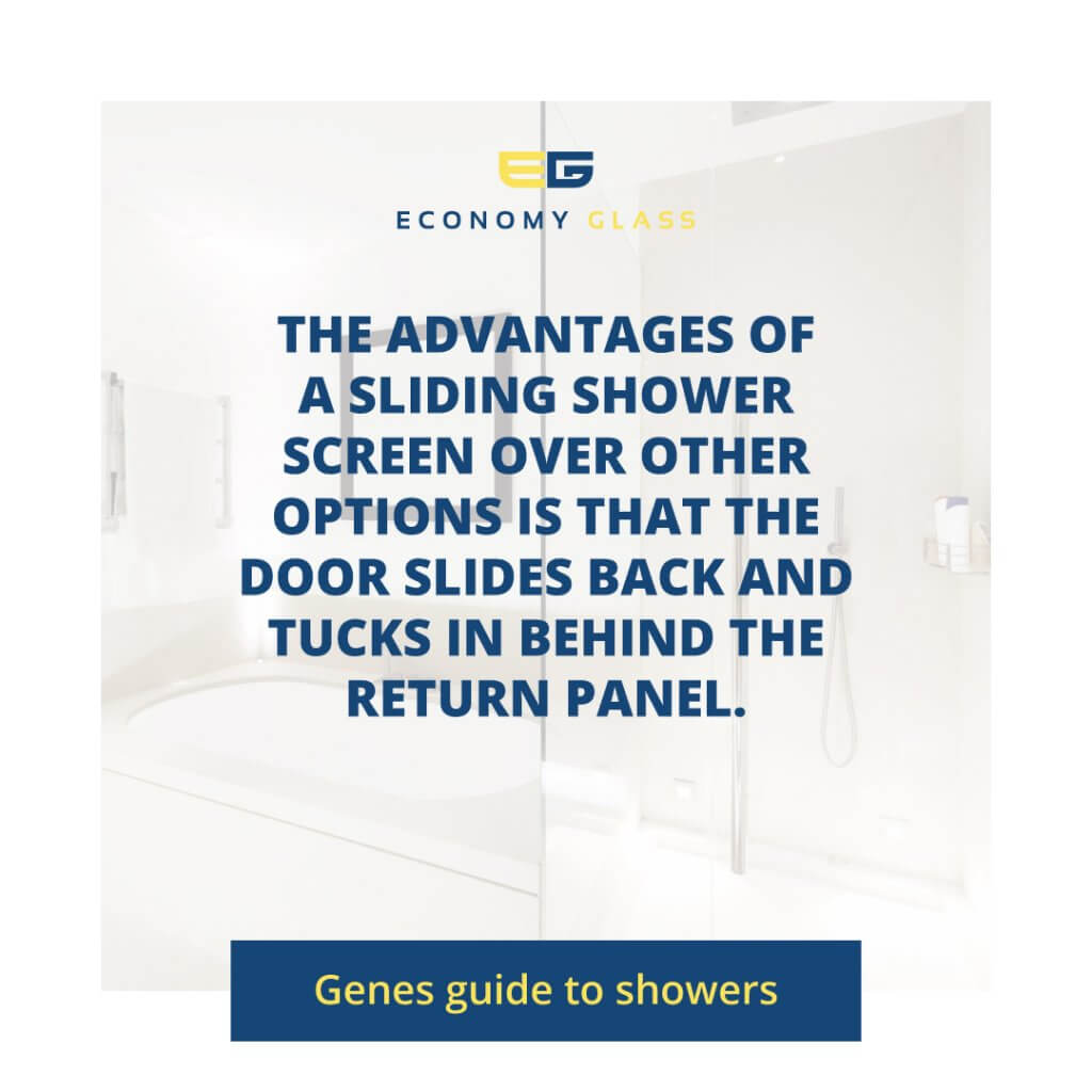sliding-shower